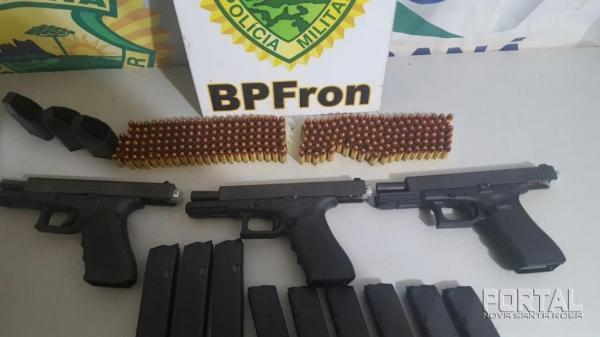 Armas com alto potencial que foram tiradas de circulação. (Foto: Assessoria)