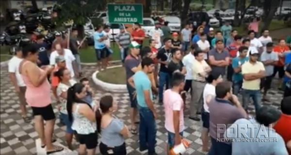 Paraguai: Após Governo realizar operações de combate ao tráfico e contrabando de cigarros, cigarreiros fazem manifestações (Foto: Divulgação )