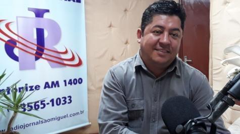 Presidente do legislativo de São Miguel do Iguaçu, vereador Edson Ferreira. (Foto: Arquivo)